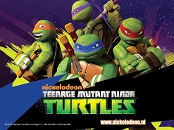 De Teenage Mutant Ninje Turtles huren www.looppoppen.nl
